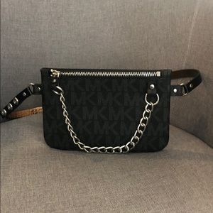 Michael Kors Logo Belt Bag